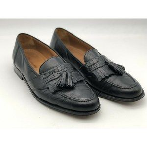 Magnanni Mens Dress Shoes Loafers Black Leather